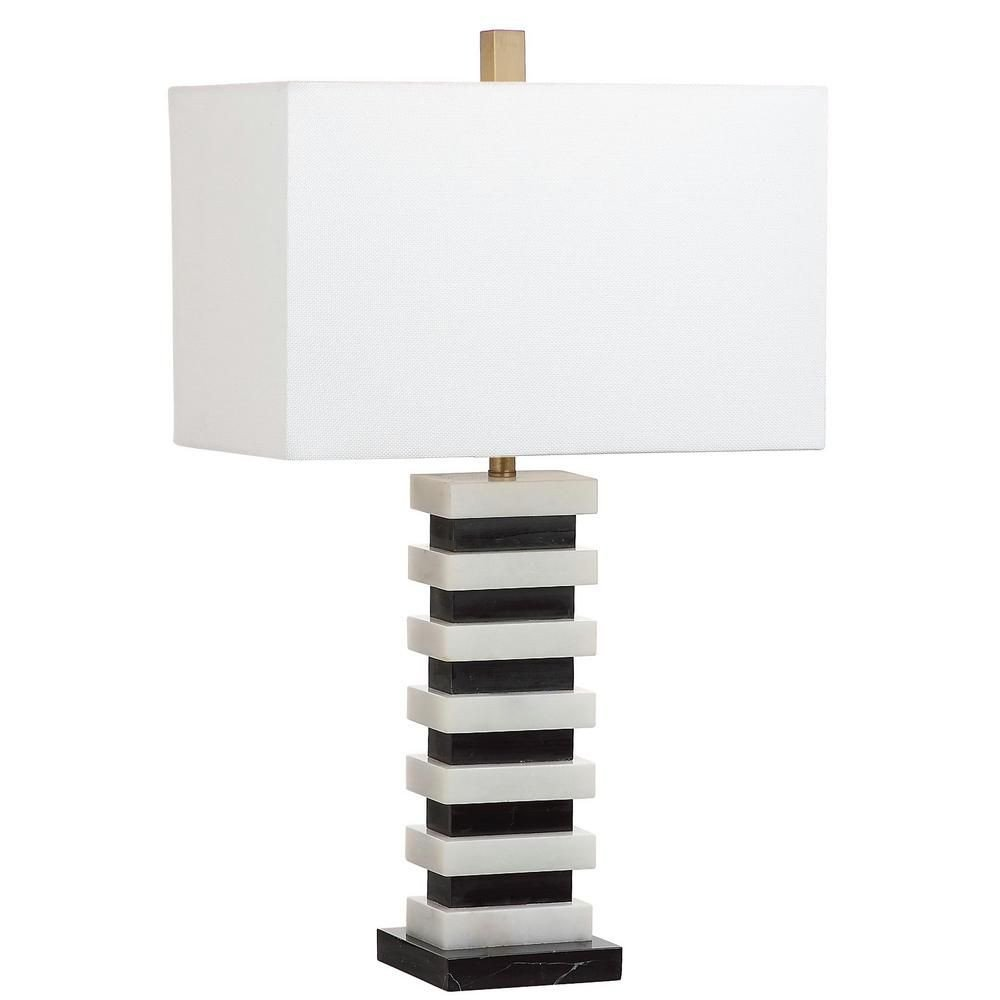 Touch Table Lamps Bedroom Best Of Safavieh Hugo Marble 26 5 In Black White Table Lamp by
