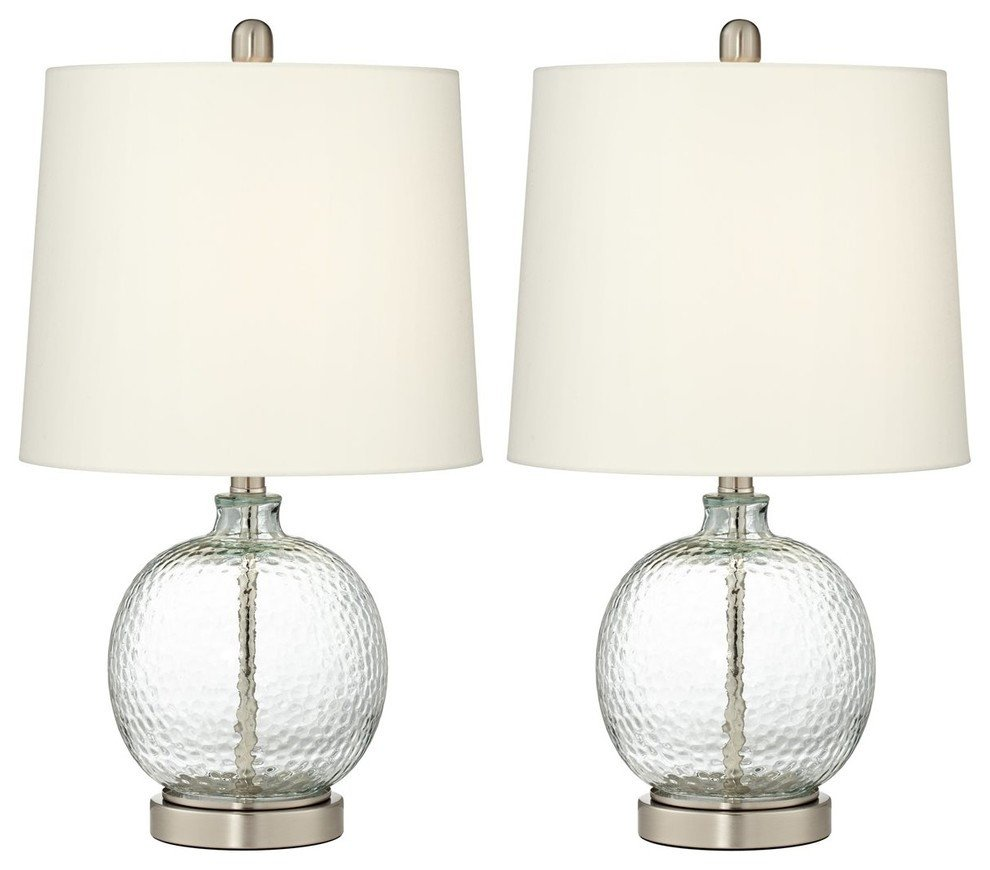 Touch Table Lamps Bedroom Inspirational Pacific Coast Saxby Round Table Lamp Set 2 Brushed Nickel