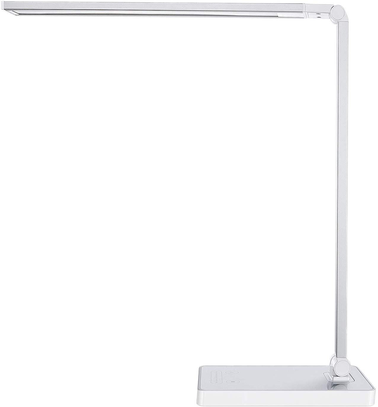 Touch Table Lamps Bedroom New Phive Dimmable Led Desk Lamp with Fast Charging Usb Port touch Control 8 Level Dimmer 4 Lighting Modes Aluminum Body Eye Care Led Table Lamp