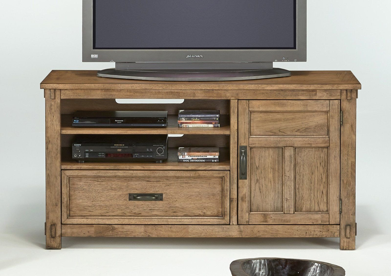 Tv Media Chest Bedroom Lovely Boulder Creek Transitional Media Console Antique Pecan