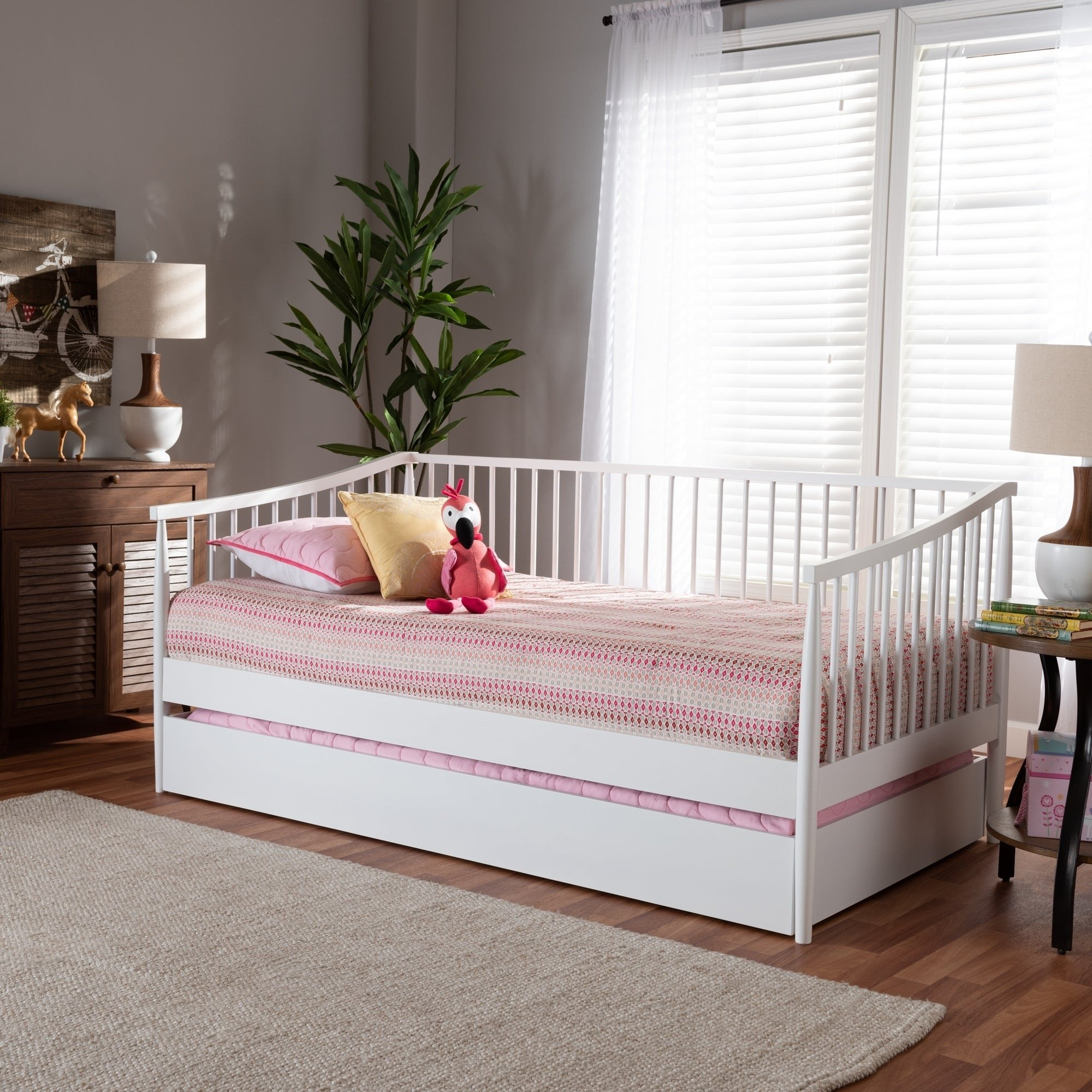Twin Trundle Bedroom Set Fresh Renata Classic and Traditional Wood Daybed with Trundle