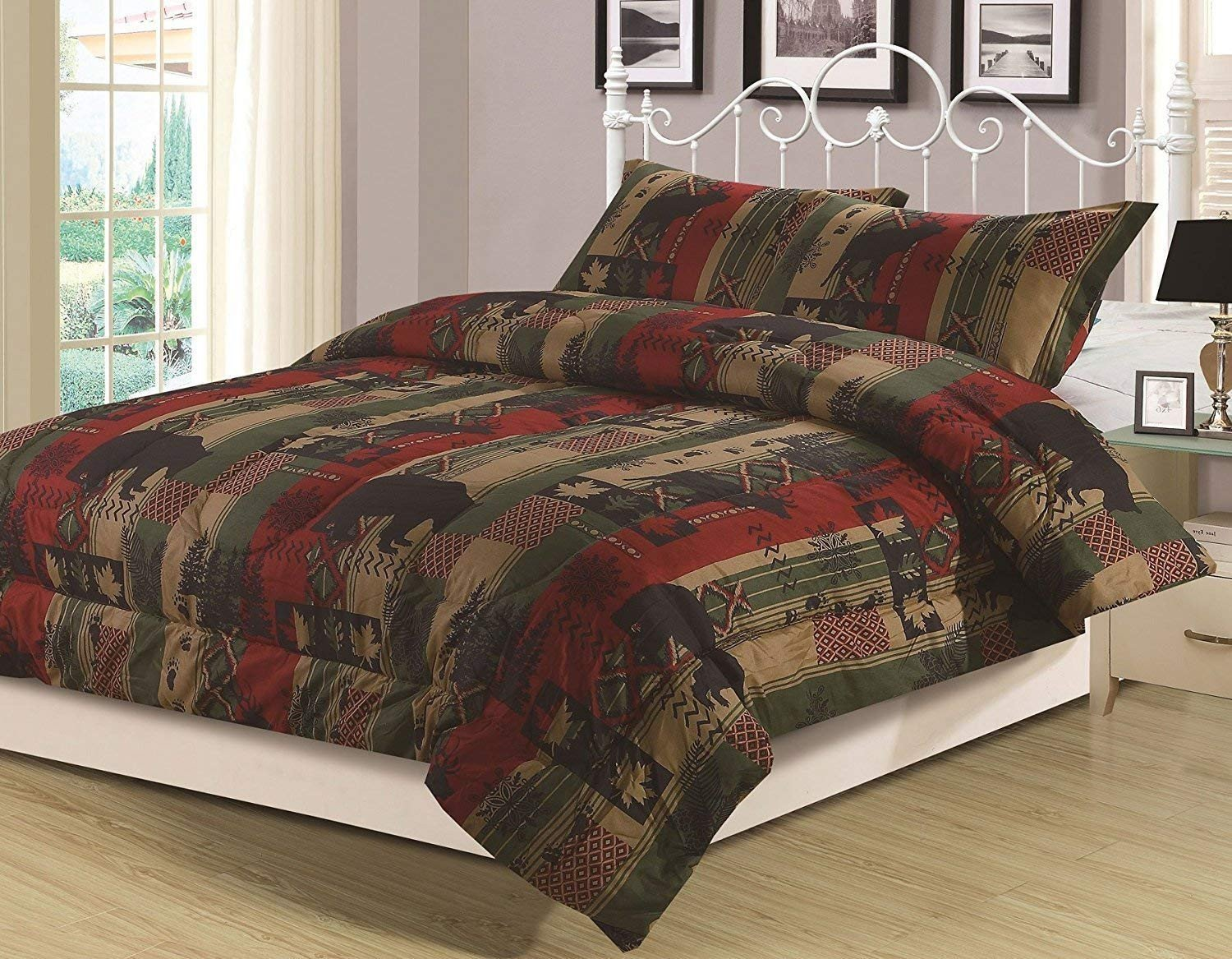 Twin Xl Bedroom Set Unique Howplumb Rustic southwest Twin forter 2 Piece Bedding Set Bear Cabin Lodge Nature Wildlife