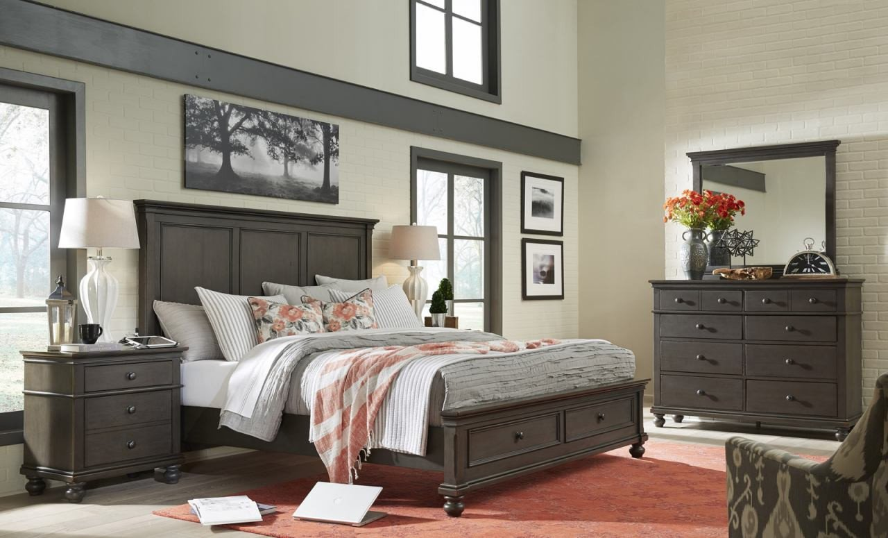 Used Lexington Bedroom Furniture Awesome aspenhome Oxford 4pc Panel Storage Bedroom Set In Peppercorn