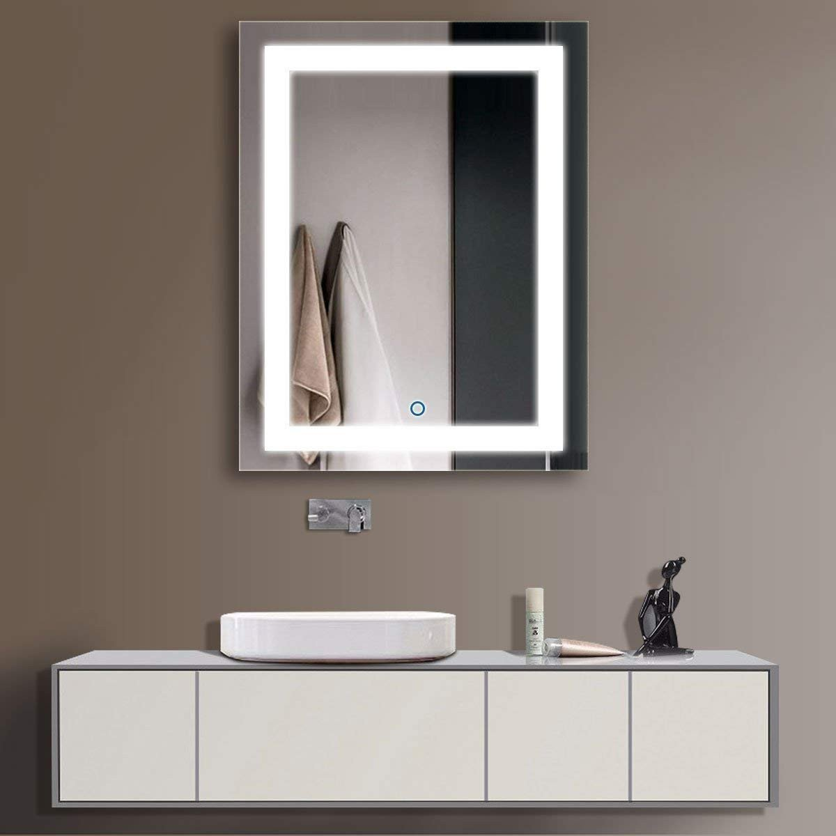 Vanity Mirror with Light for Bedroom Best Of D Hyh Led Bathroom Silvered Mirror 2836 In In Clear