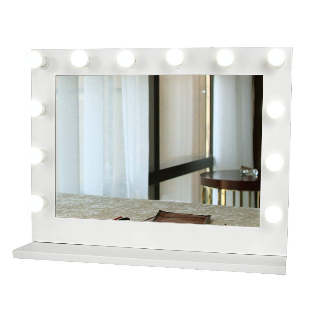 Vanity Mirror with Light for Bedroom Inspirational Gurun Hollywood Vanity Mirror with Light Tabletop Makeup Mirror Lighted Vanity Glamour Mirror W Dimmer 12 Led Bulbs Included