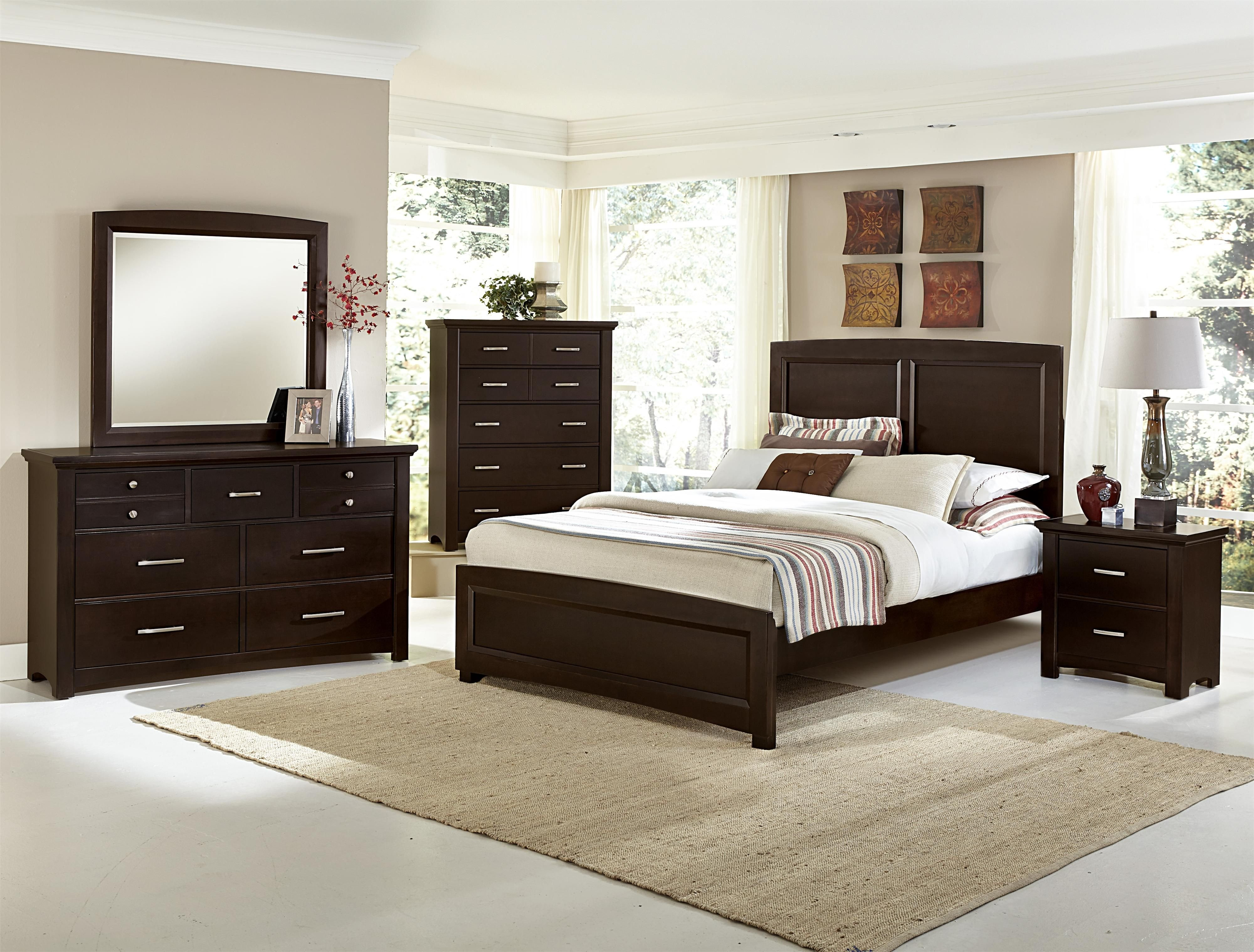 Vaughan Bassett Bedroom Set Elegant Transitions Bb67 by Vaughan Bassett Darvin Furniture