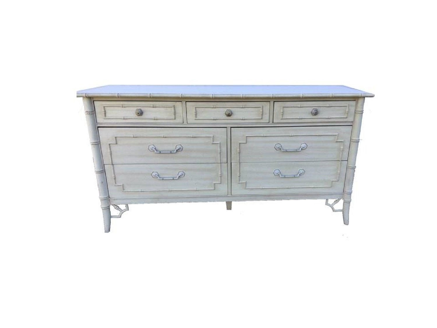Vintage Thomasville Bedroom Furniture Elegant Thomasville Fretwork Allegro Faux Bamboo Dresser Palm Beach