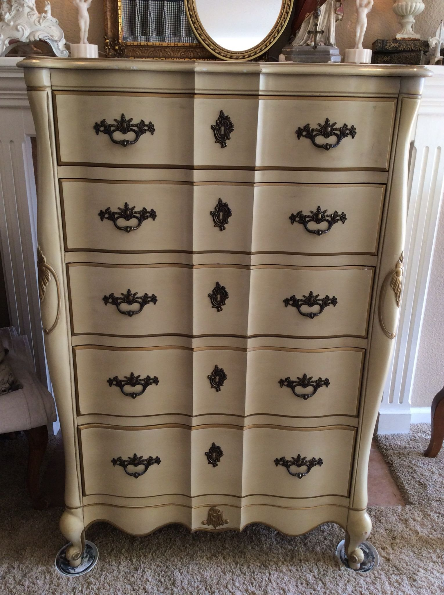 Vintage Thomasville Bedroom Furniture Lovely Absolutely Beautiful Vintage French Provencial Chest Of