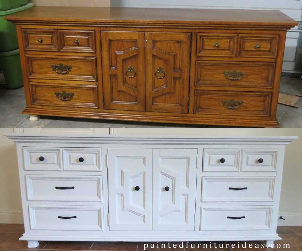 Vintage Thomasville Bedroom Furniture Lovely Thomasville Dresser Painted White Home Makeover