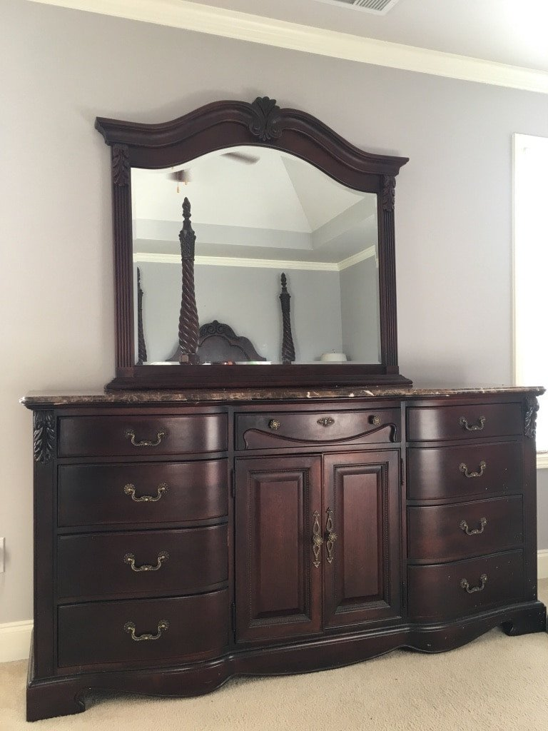 Vintage Thomasville Bedroom Furniture Luxury Used 6 Piece Queen Bedroom Suite From Thomasville Furniture