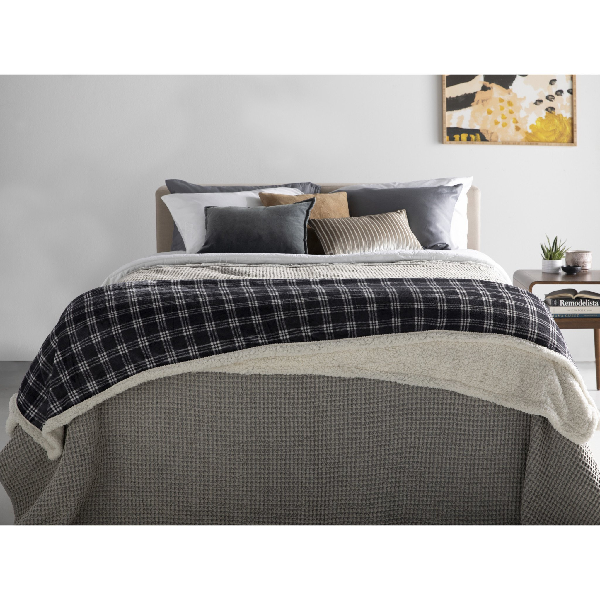 Wal Mart Bedroom Furniture Beautiful Newport nordic soft Sherpa Bed Blanket 1 Each Walmart