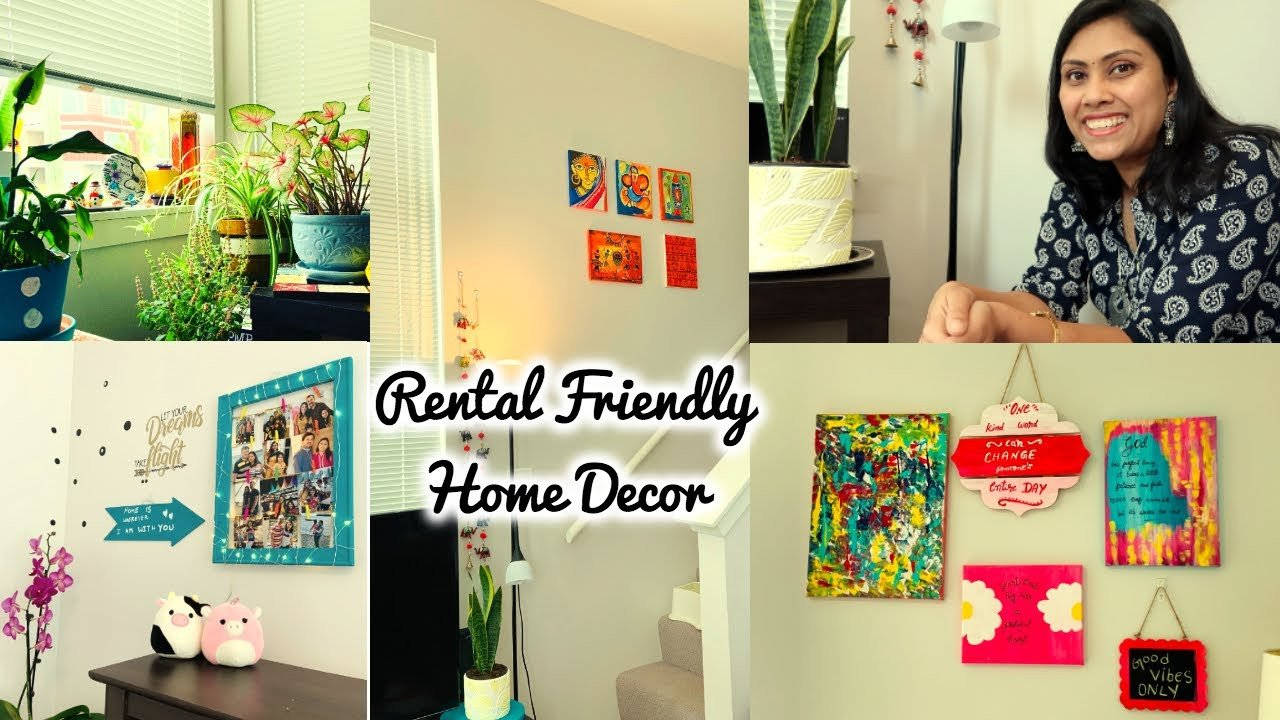 Wall Decorating Ideas for Bedroom Lovely Rented House Decoration Ideas Indian Style Bedroom Wall Makeover On Bud Ii Affordable & Easy