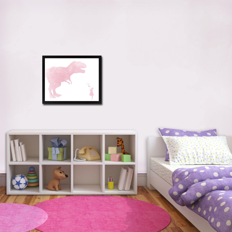 Wall Decoration for Girls Bedroom Beautiful Girl Dinosaur Art Dinosaur Nursery Girls Bedroom Art Girls Bedroom Decor Girls Dinosaur Decor Dinosaur Decor Girl Baby Shower