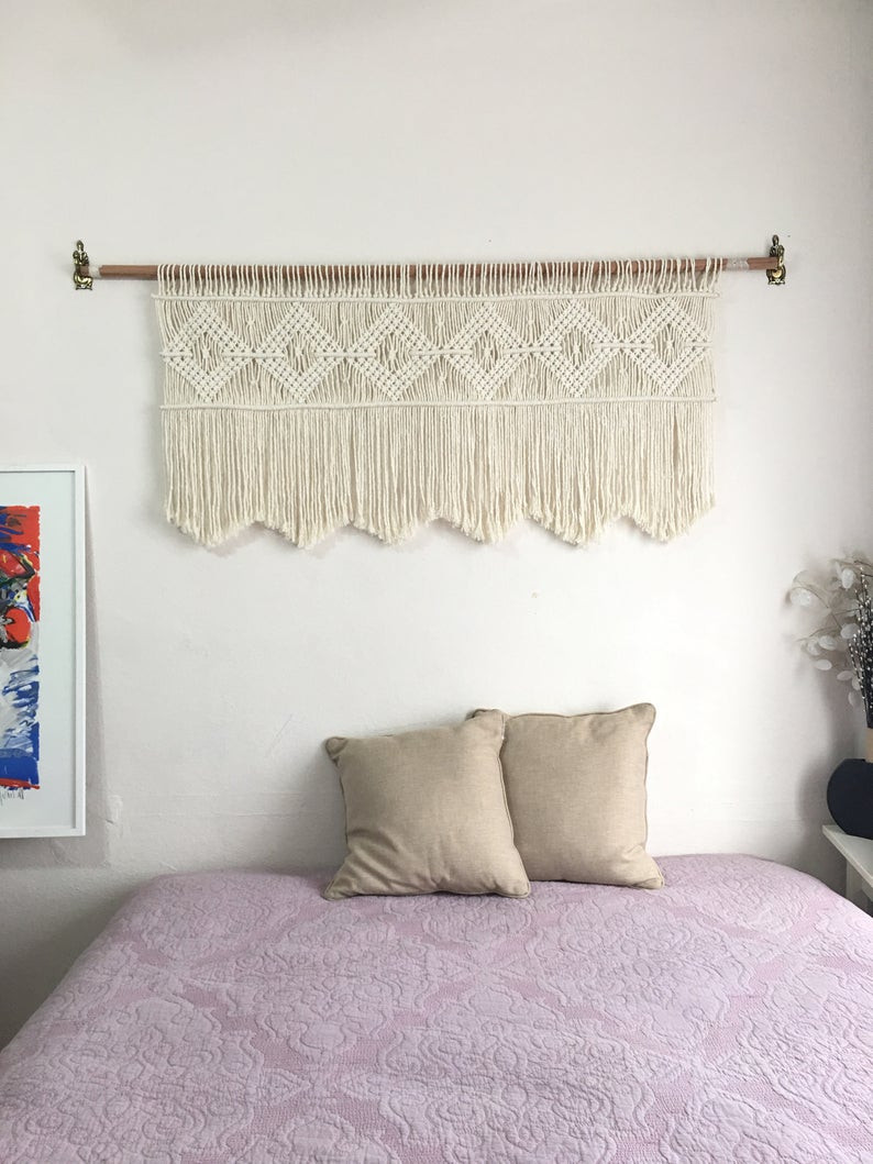 Wall Hangings for Bedroom Luxury Macrame Headboard Wall Hanging Textile Home Decor