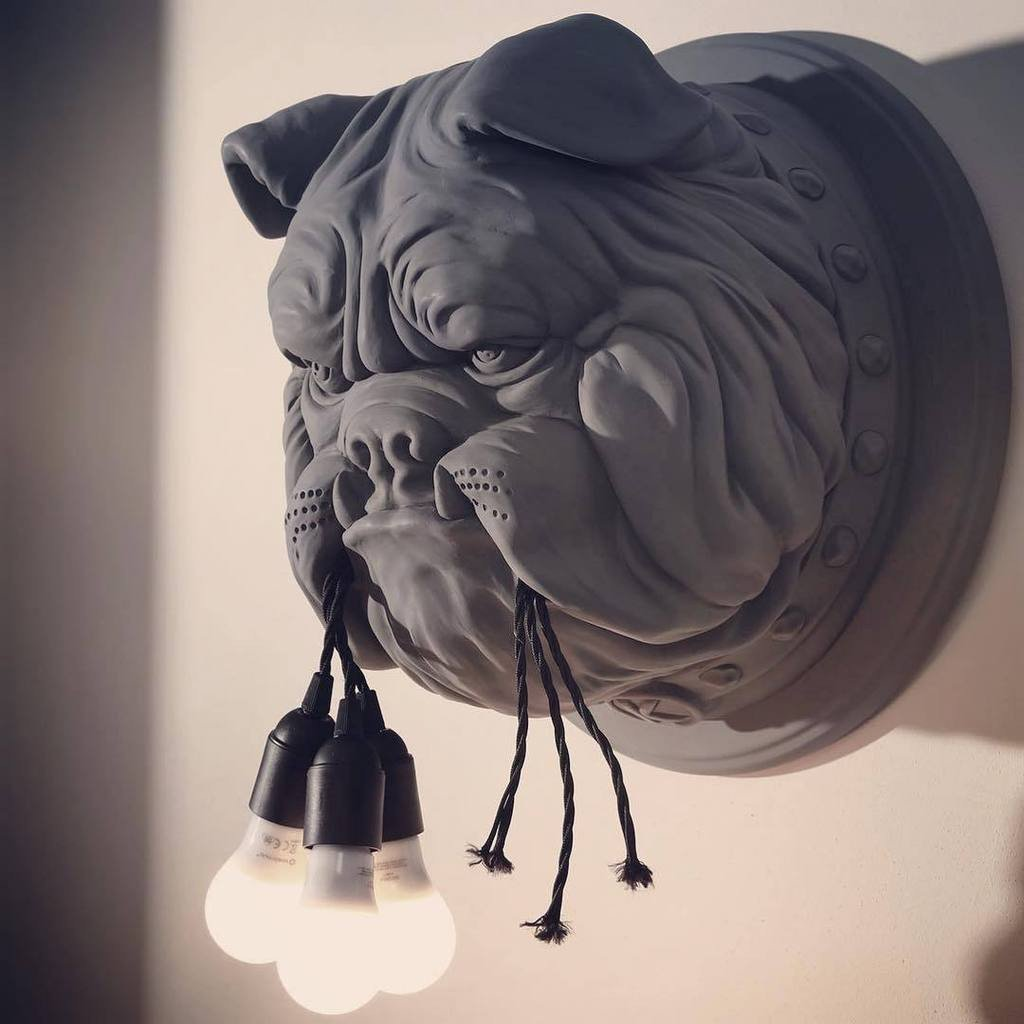 Wall Light for Bedroom Awesome Bulldog Wall Lamp(over Off now) – Get Yours Here
