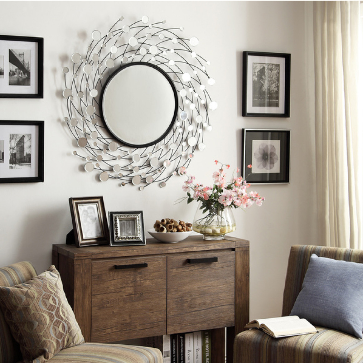 Wall Mirror for Bedroom Awesome Does Your Accent Mirror Look Lonely On A Big Wall Flank