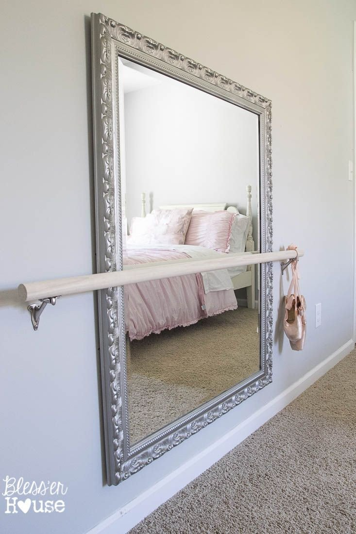 Wall Mirror for Bedroom New Diy Ballet Barre and How to Hang A Heavy Mirror