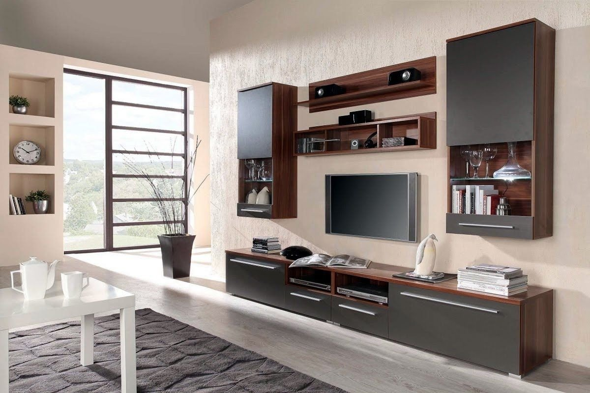 Wall Mounted Tv Ideas Bedroom Beautiful Wall Mounted Tv Unit Designs for Bedroom