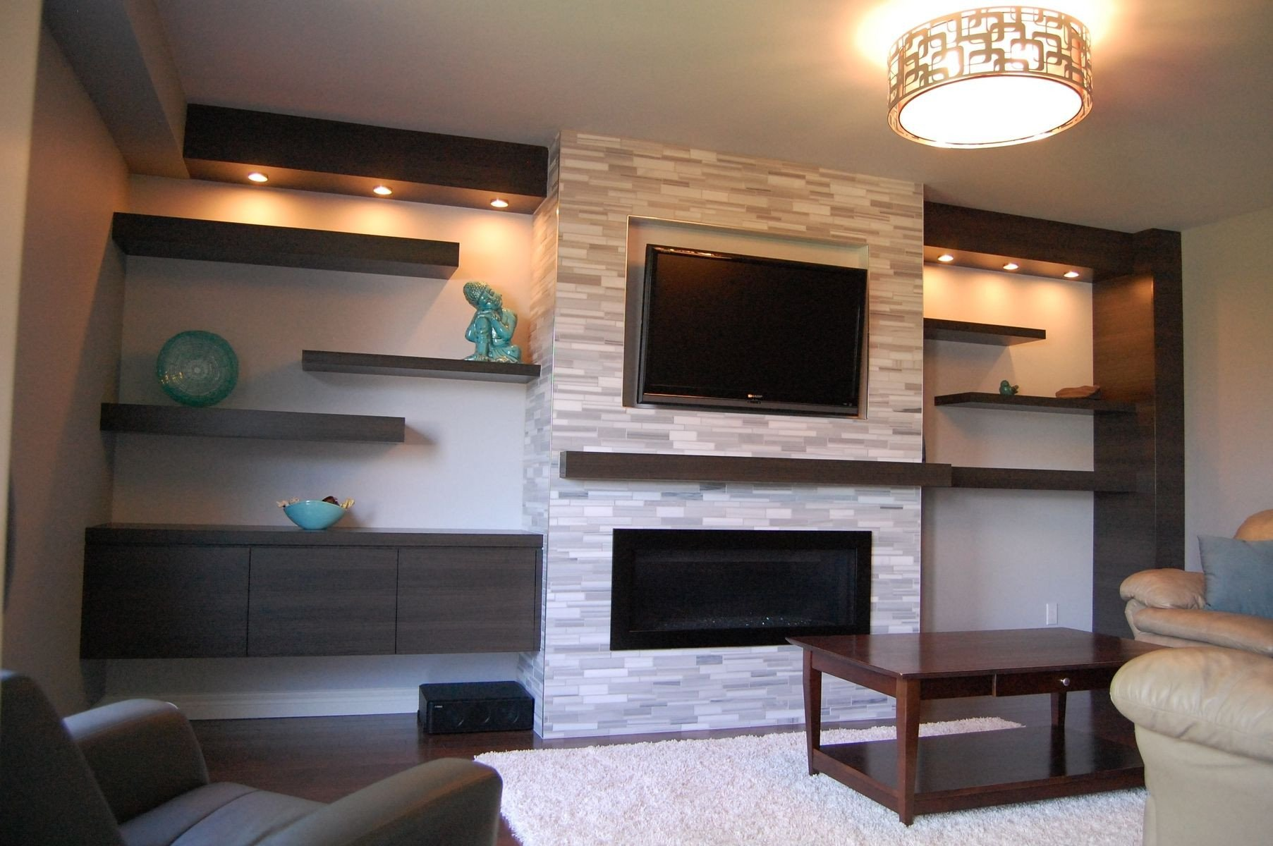 Wall Mounted Tv Ideas Bedroom New Custom Modern Wall Unit Made Pletely From A Printed