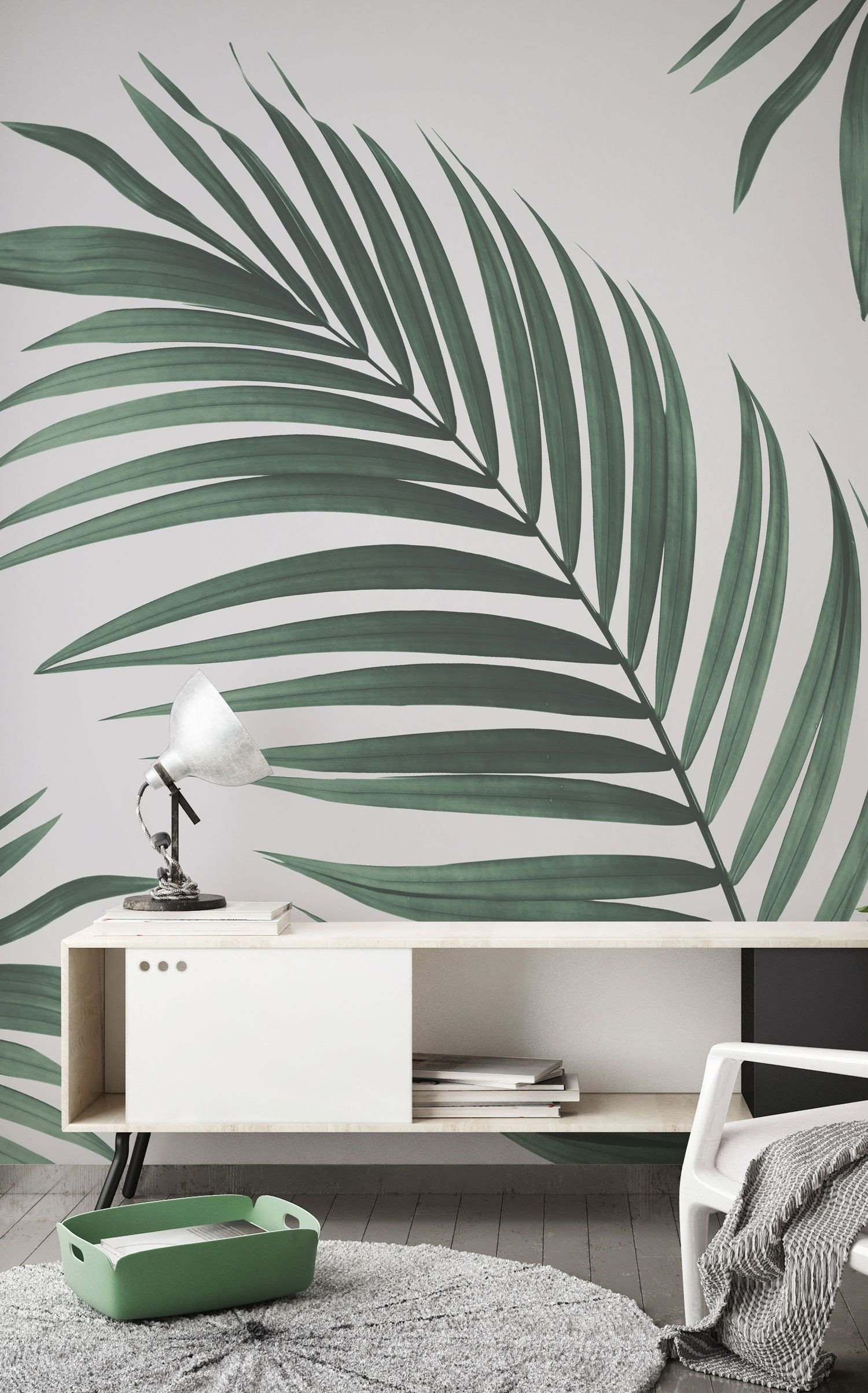 Wall Mural Ideas for Bedroom Beautiful Tropical Palm Wall Mural