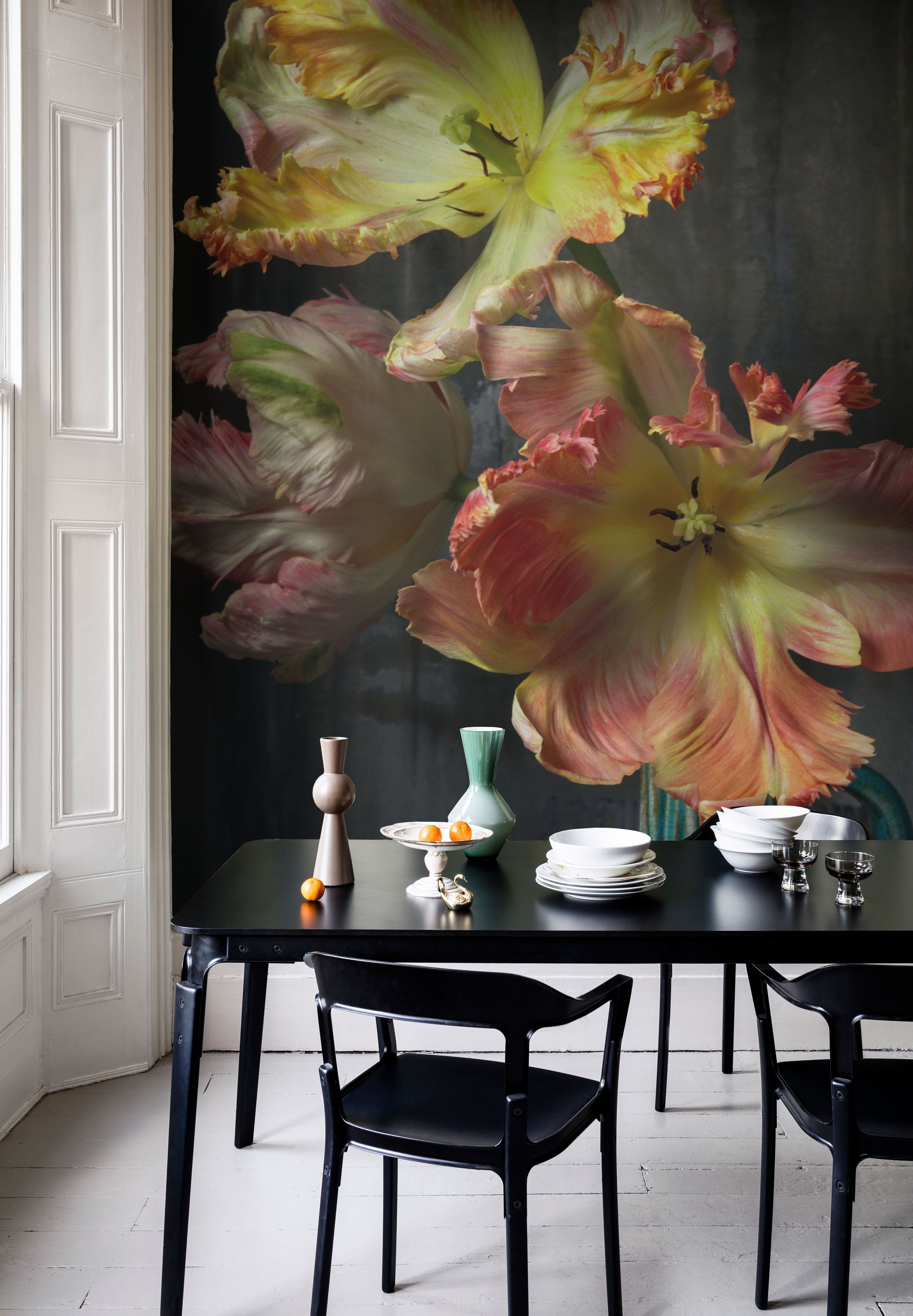Wall Mural Ideas for Bedroom Elegant Bursting Flower Still Mural Trunk Archive Collection From