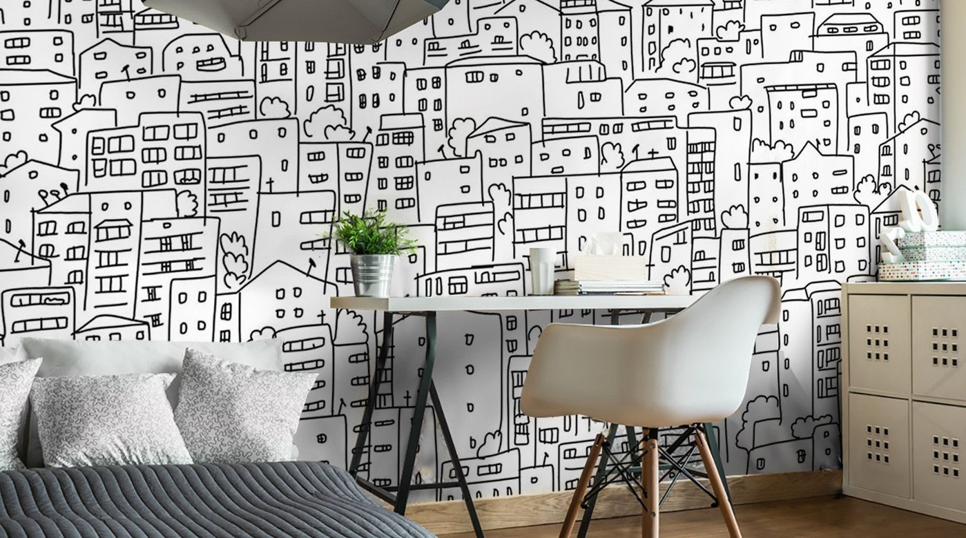Wall Mural Ideas for Bedroom Fresh Illustration Wall Murals Illustration Wallpaper