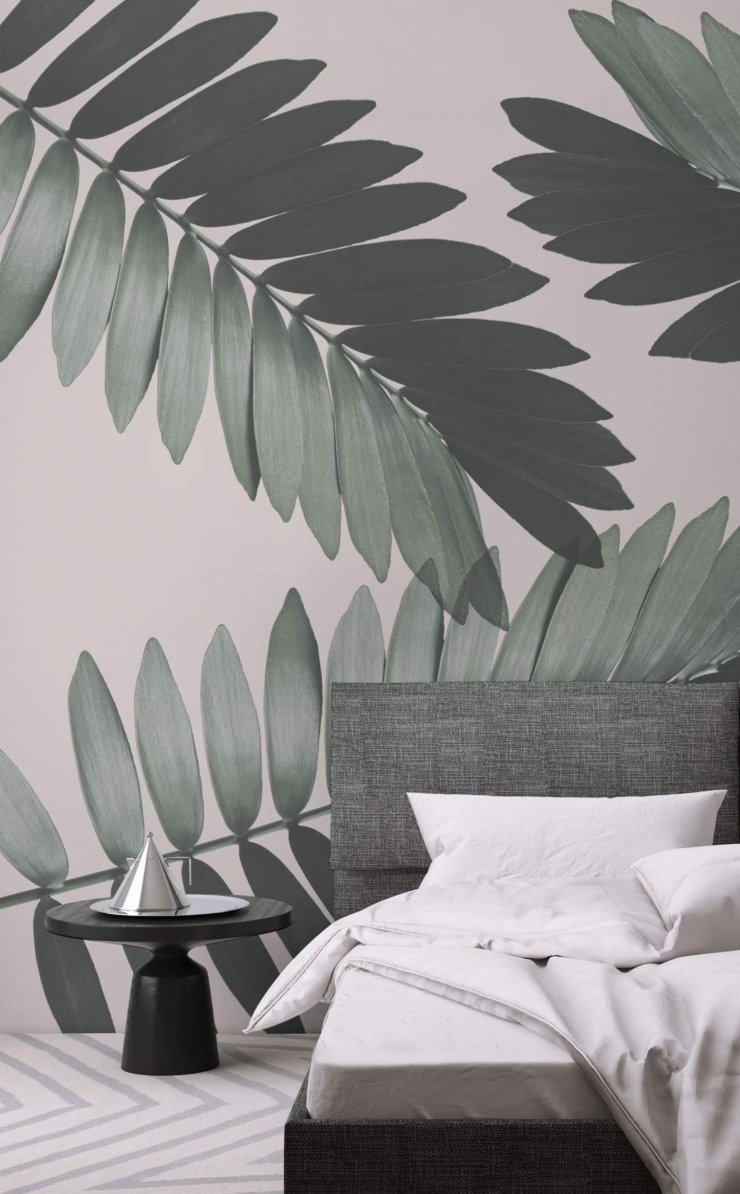Wall Paper Design for Bedroom Unique Cardboard Palm Wall Mural In 2020