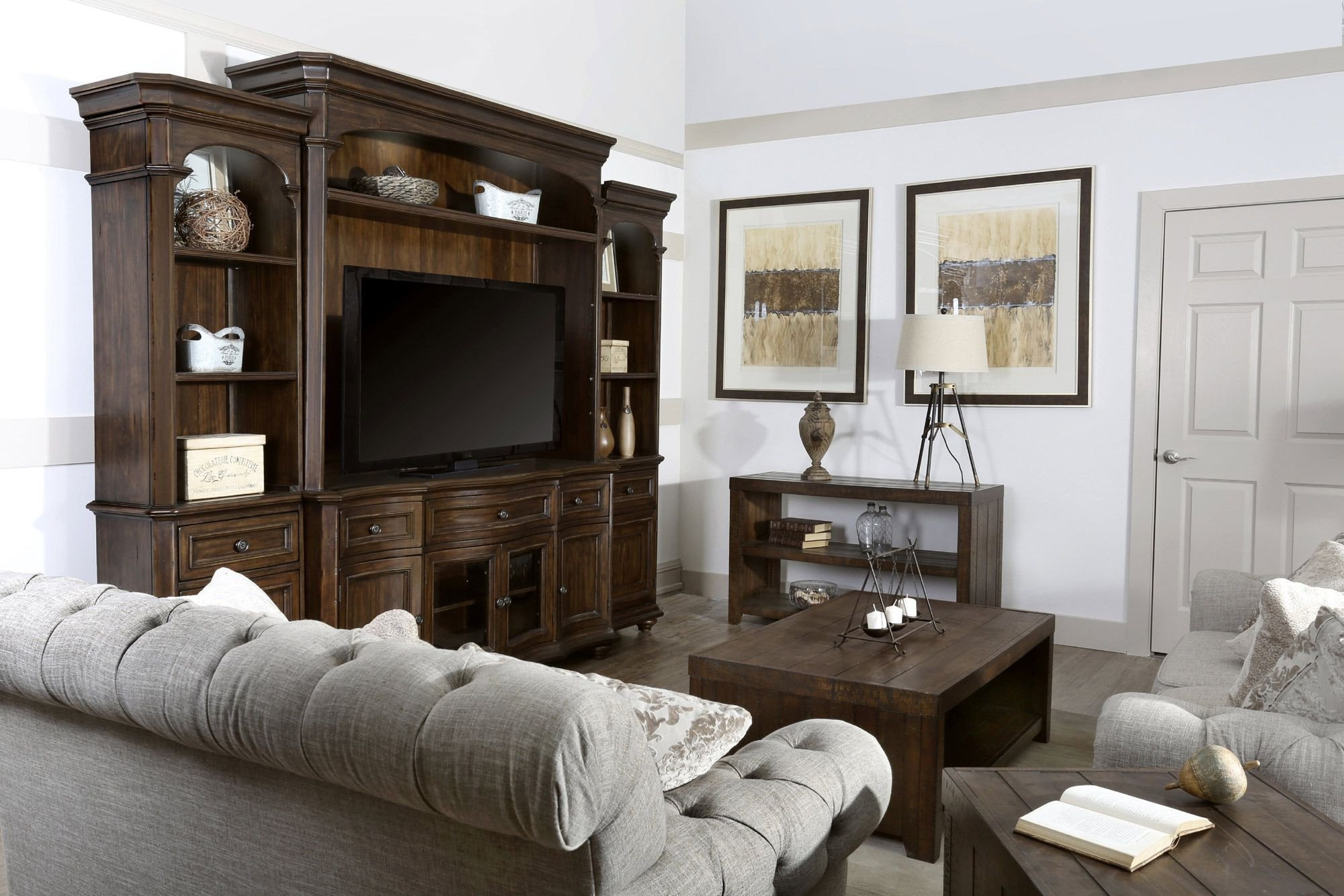 Wall Unit Bedroom Set Lovely Kessington Entertainment Wall Magnussen Furniture