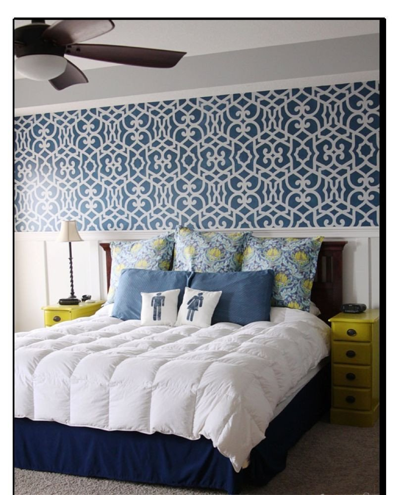 Wallpaper Accent Wall Bedroom Awesome Self Adhesive Geometric Pattern Print Removable Vinyl