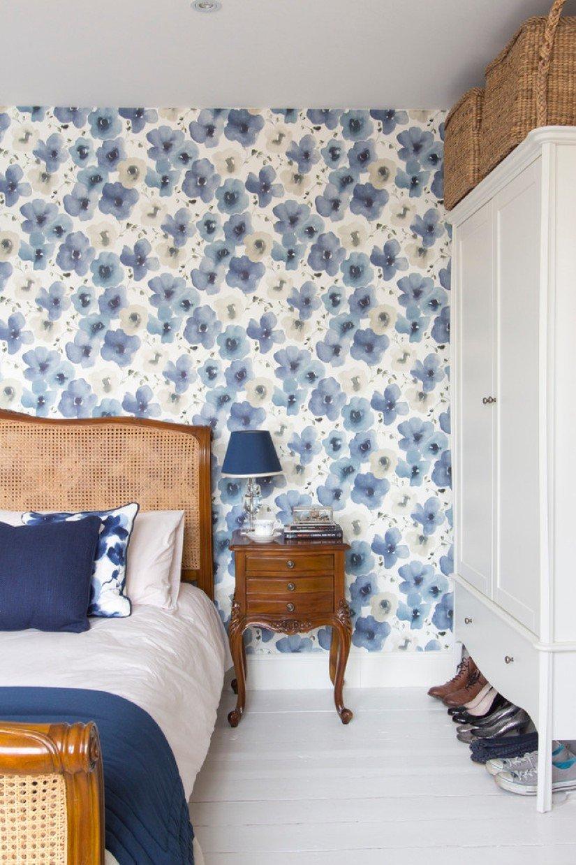 Wallpaper Accent Wall Bedroom Best Of Bedroom with Wallpaper Accent Wall that You Must Have