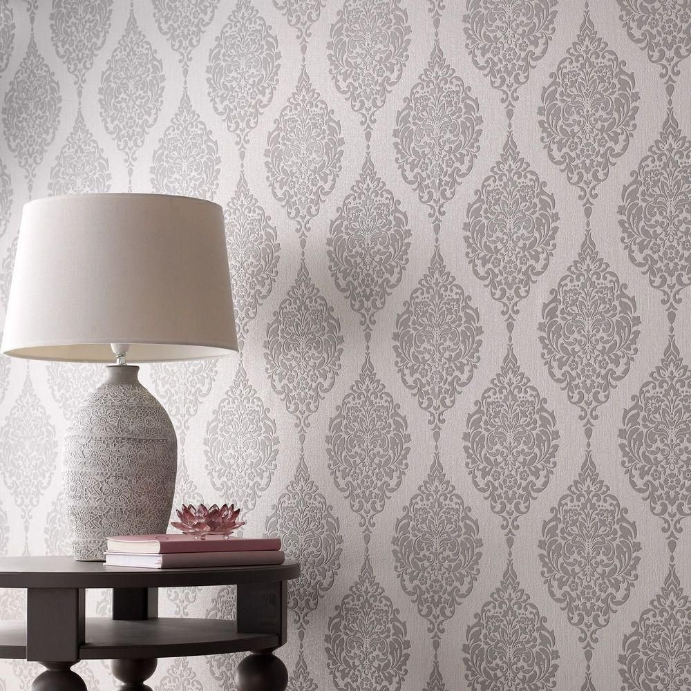 Wallpaper Borders for Bedroom Awesome Graham & Brown Grey Luna Wallpaper 20 740