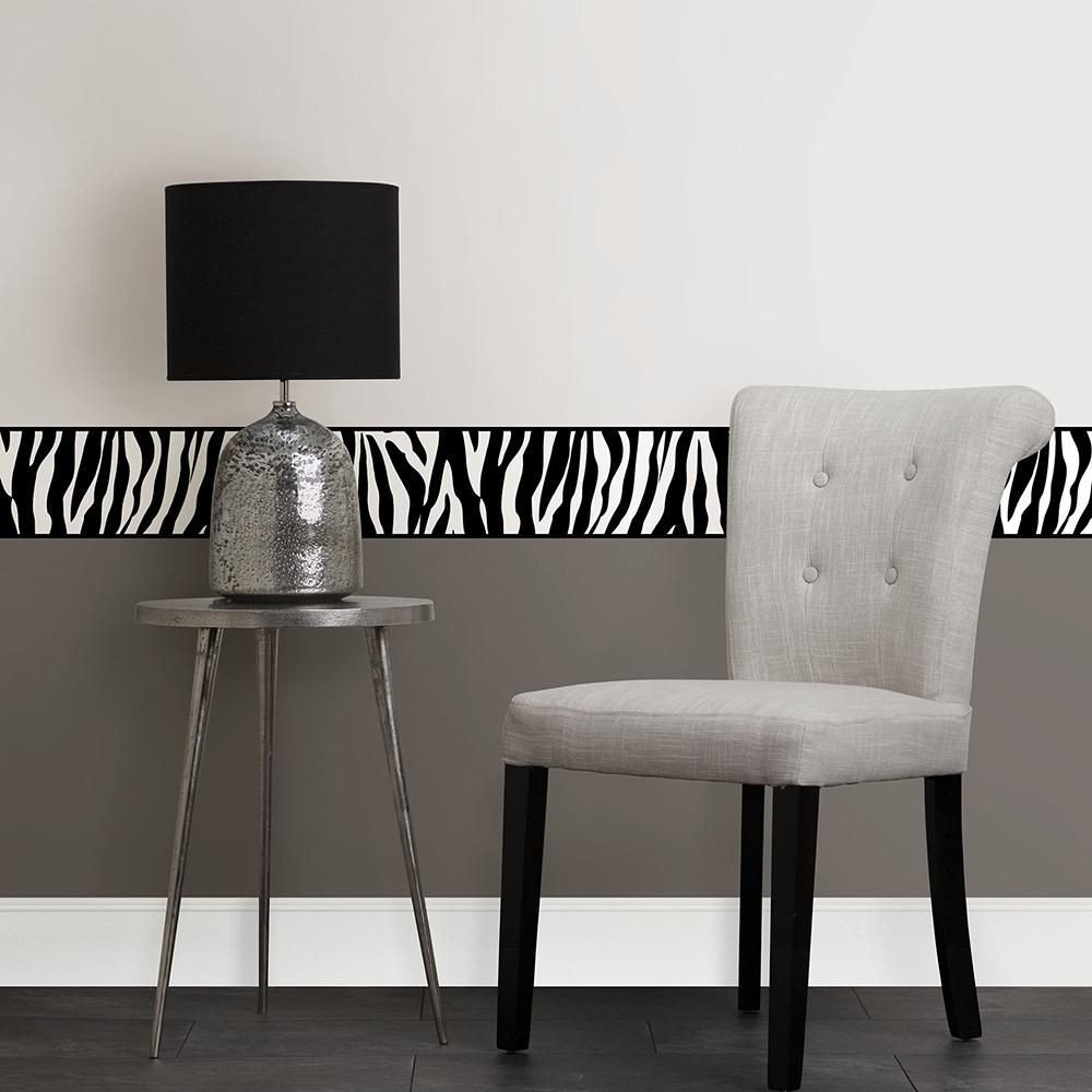 Wallpaper Borders for Bedroom Elegant Brewster Animal Print Peel and Stick Wallpaper Border