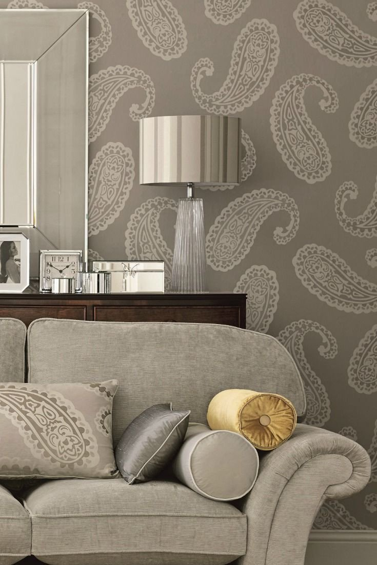 Wallpapers for Bedroom Wall Lovely Gorgeous Laura ashley Emperor Paisley Wallpaper Design