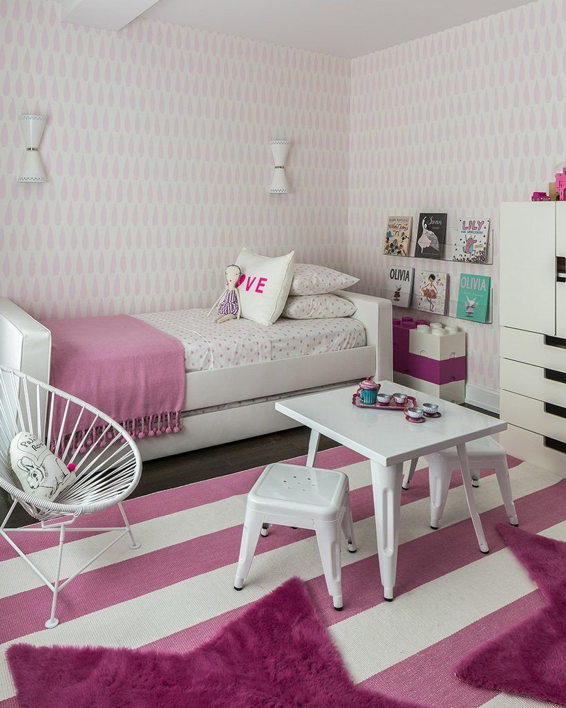 Wallpapers for Girls Bedroom Inspirational Marley Malek Kids Wallpaper Drops In Pink