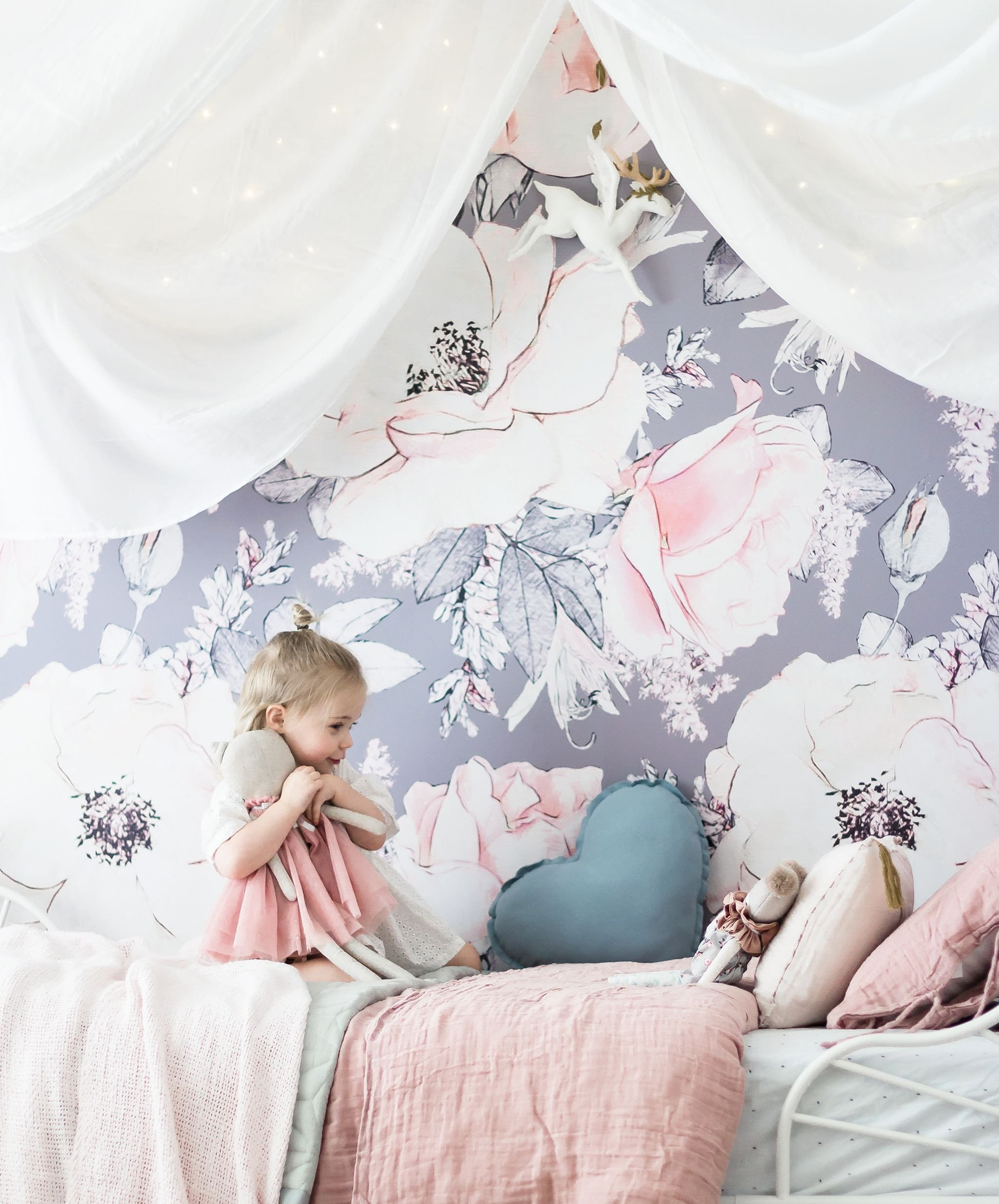Wallpapers for Girls Bedroom Lovely In the toddler Room with Indi and Bear