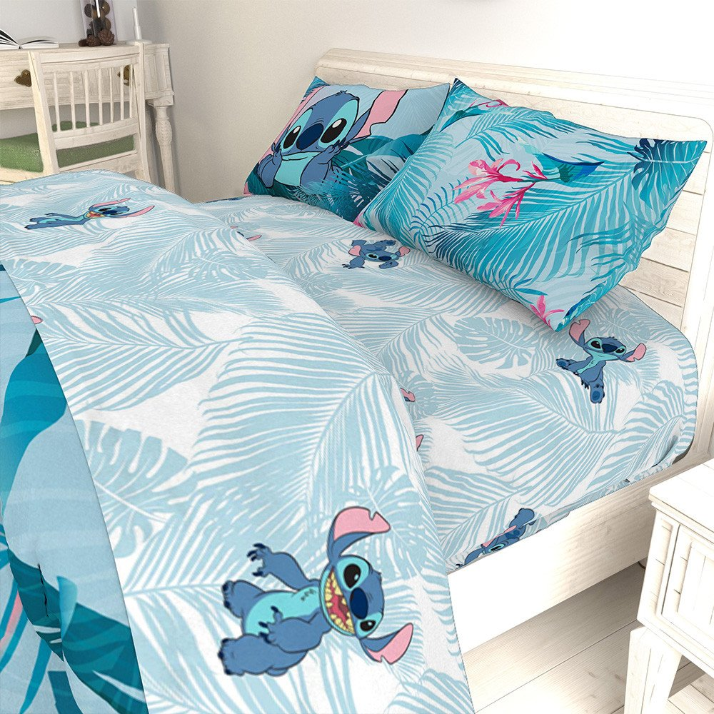 Walmart Bedroom Set Queen New Lilo & Stitch Floral Fun Queen Bed Set Walmart