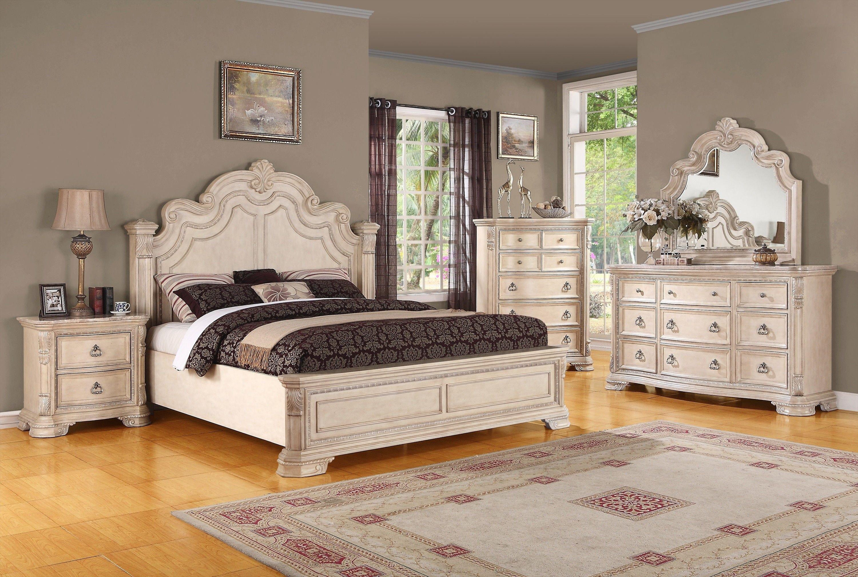 Wayfair Bedroom Set Queen Beautiful Traditional Alabaster White Bedroom