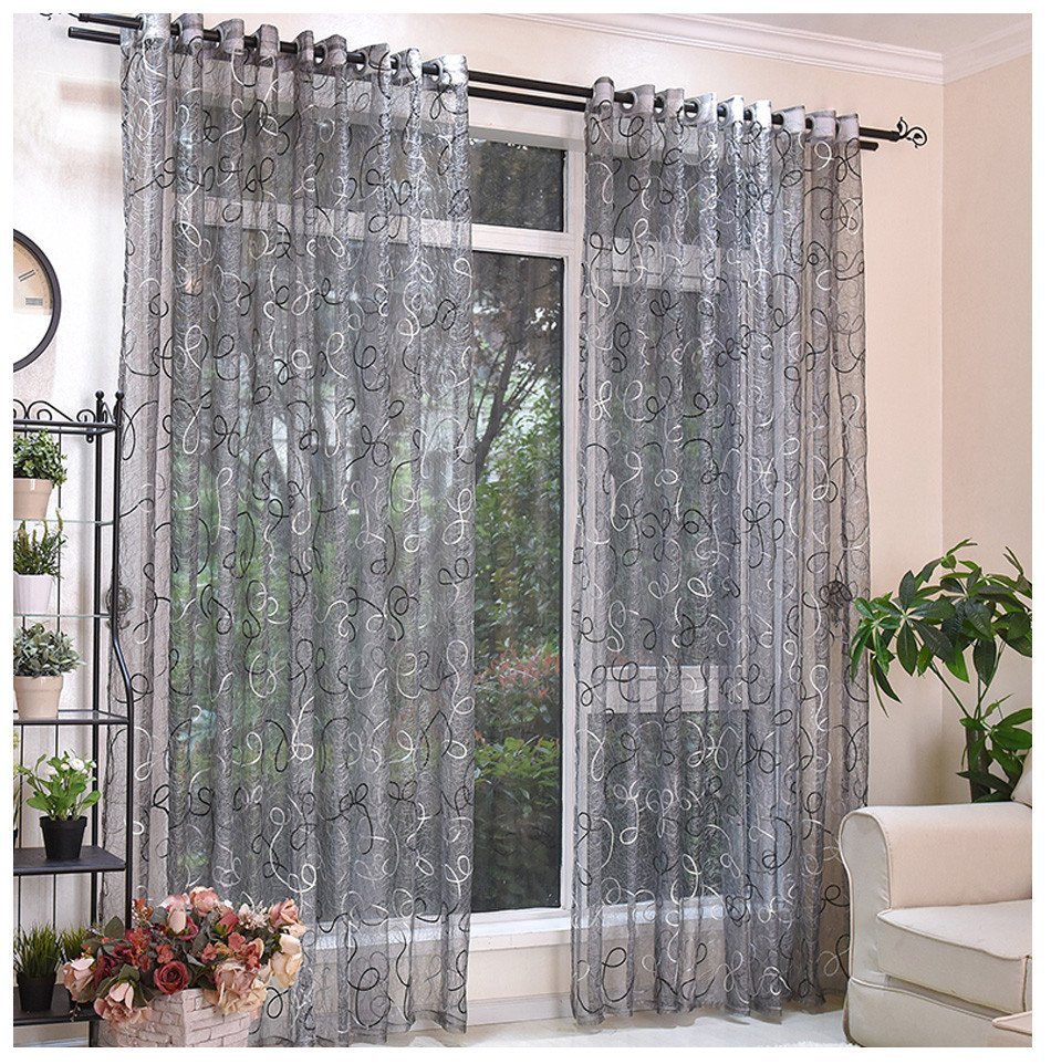 Western Curtains for Bedroom Unique 2019 European Style Gray Tulle Curtains for Living Room Translucent Bedroom Kitchen Curtains Tulle Window Blinds the Custom Made From Jawman $22 88