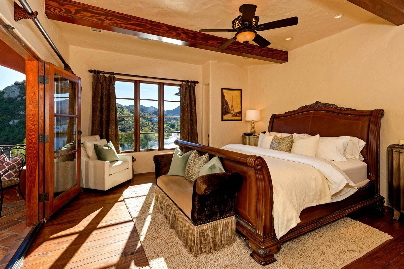 What Size Fan for Bedroom Beautiful Home Of the Week Rocker S Retreat On Lake Sherwood Offers A
