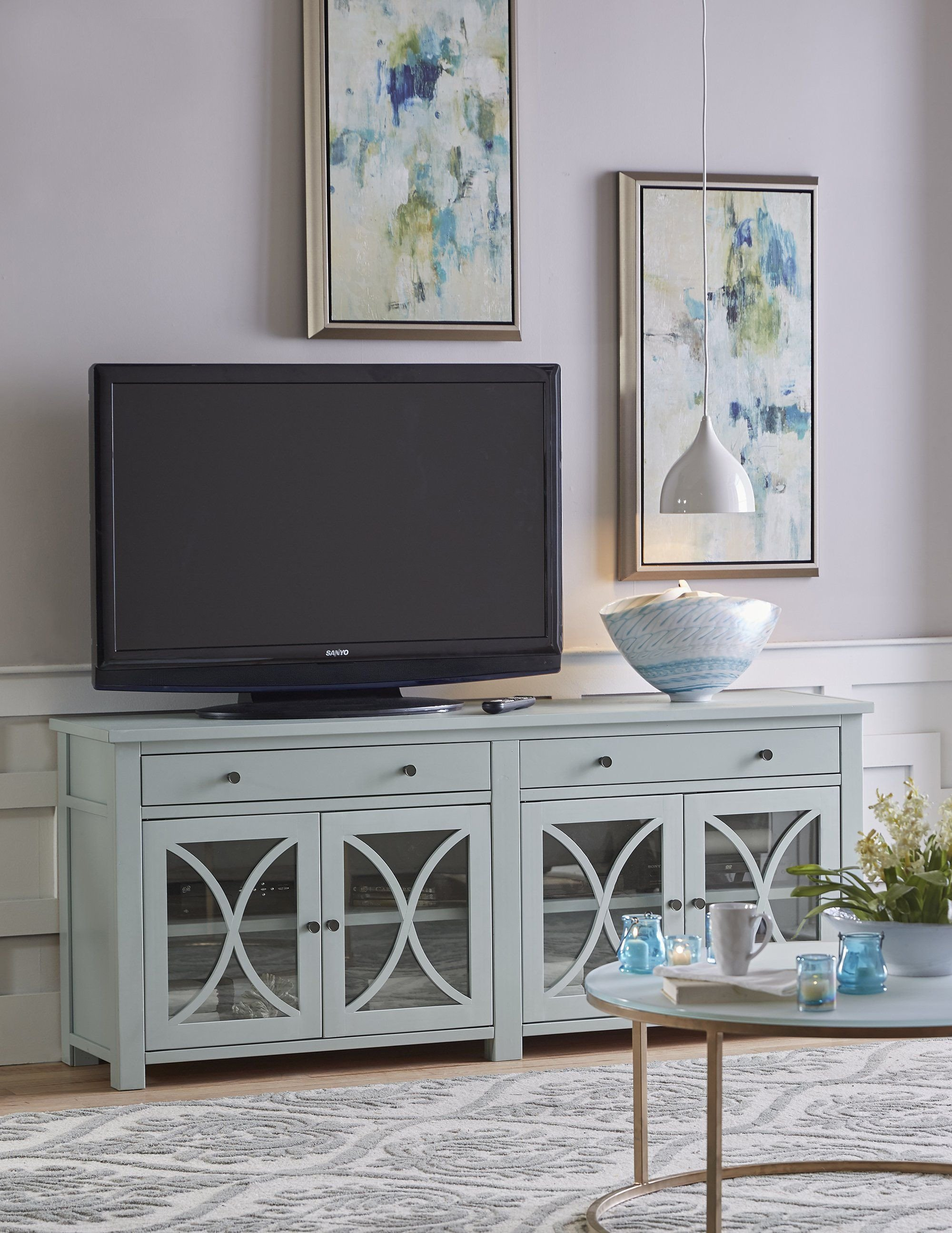 What Size Tv for Bedroom Best Of Salinas Tv Console Choose Size