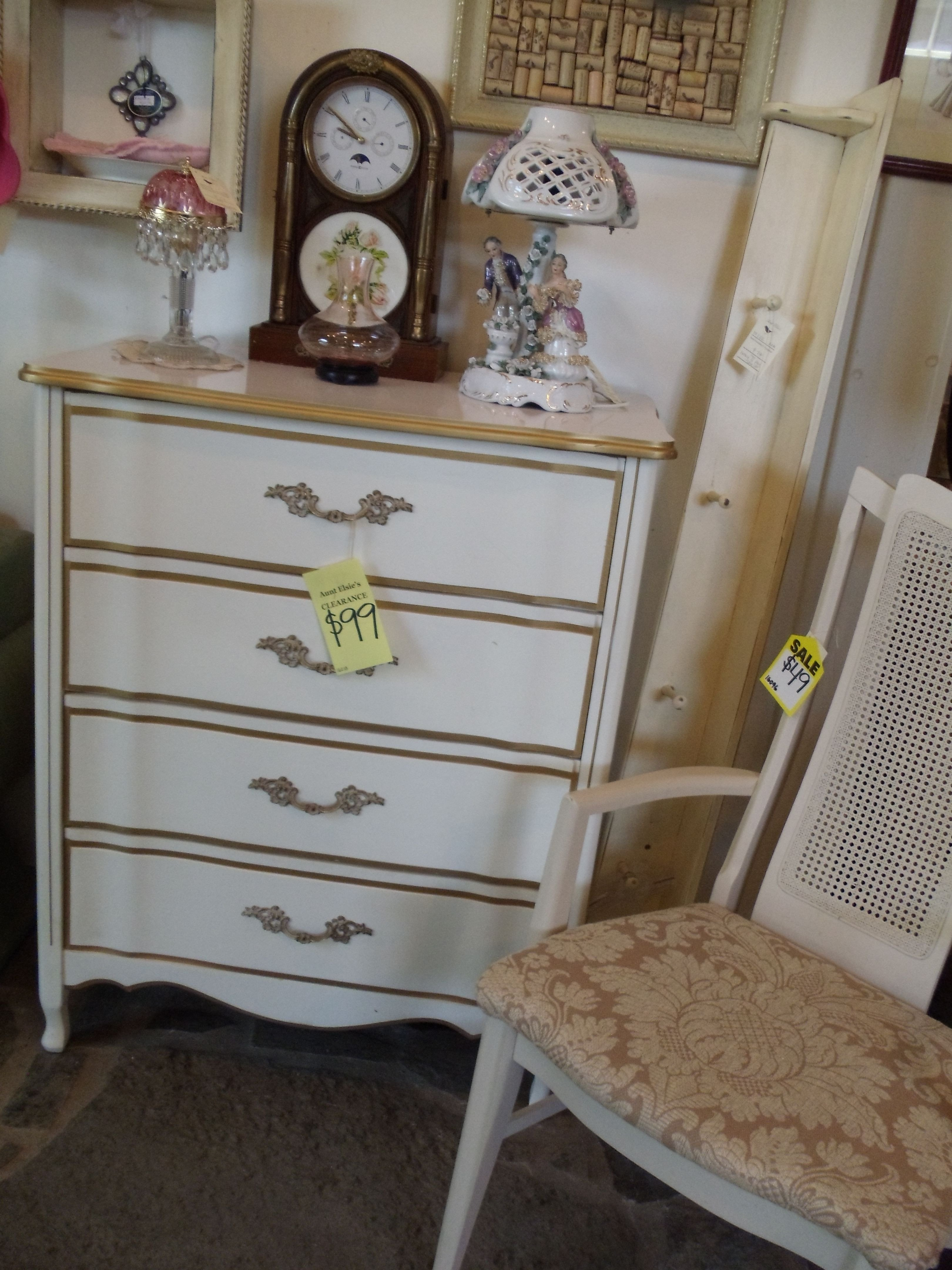 White and Gold Bedroom Set Best Of Vintage Cream with Gold Trim Dresser Perfect for A Shabby
