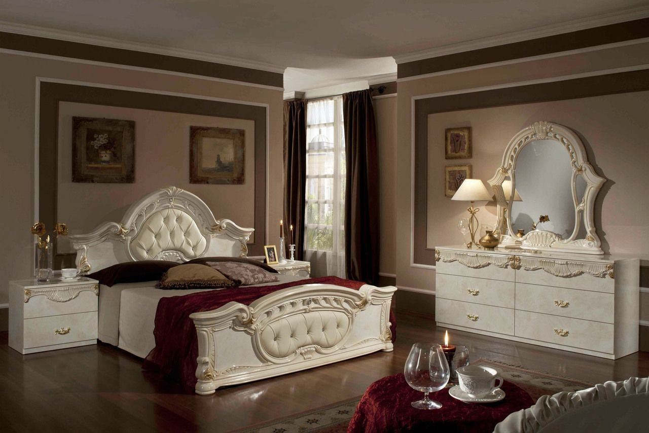 White and Gold Bedroom Set New Pin by Stylish Design Furniture On Italian Classic Bedroom