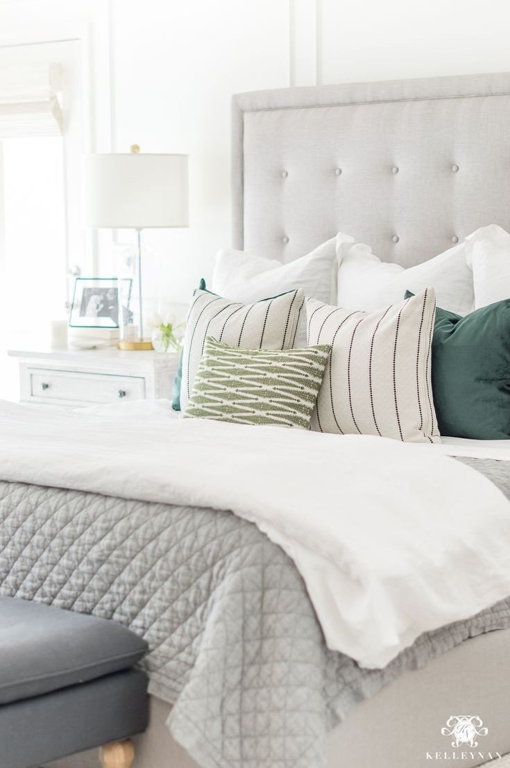 White and Gray Bedroom Lovely 15 Habits to Maximize Productivity while Working From Home
