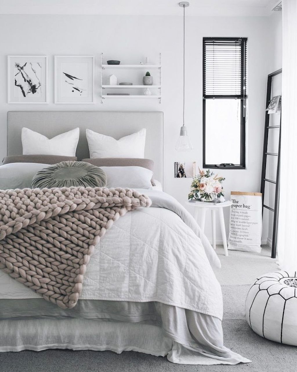 White and Gray Bedroom Lovely Pin by Kristen Rose On Home Ideas