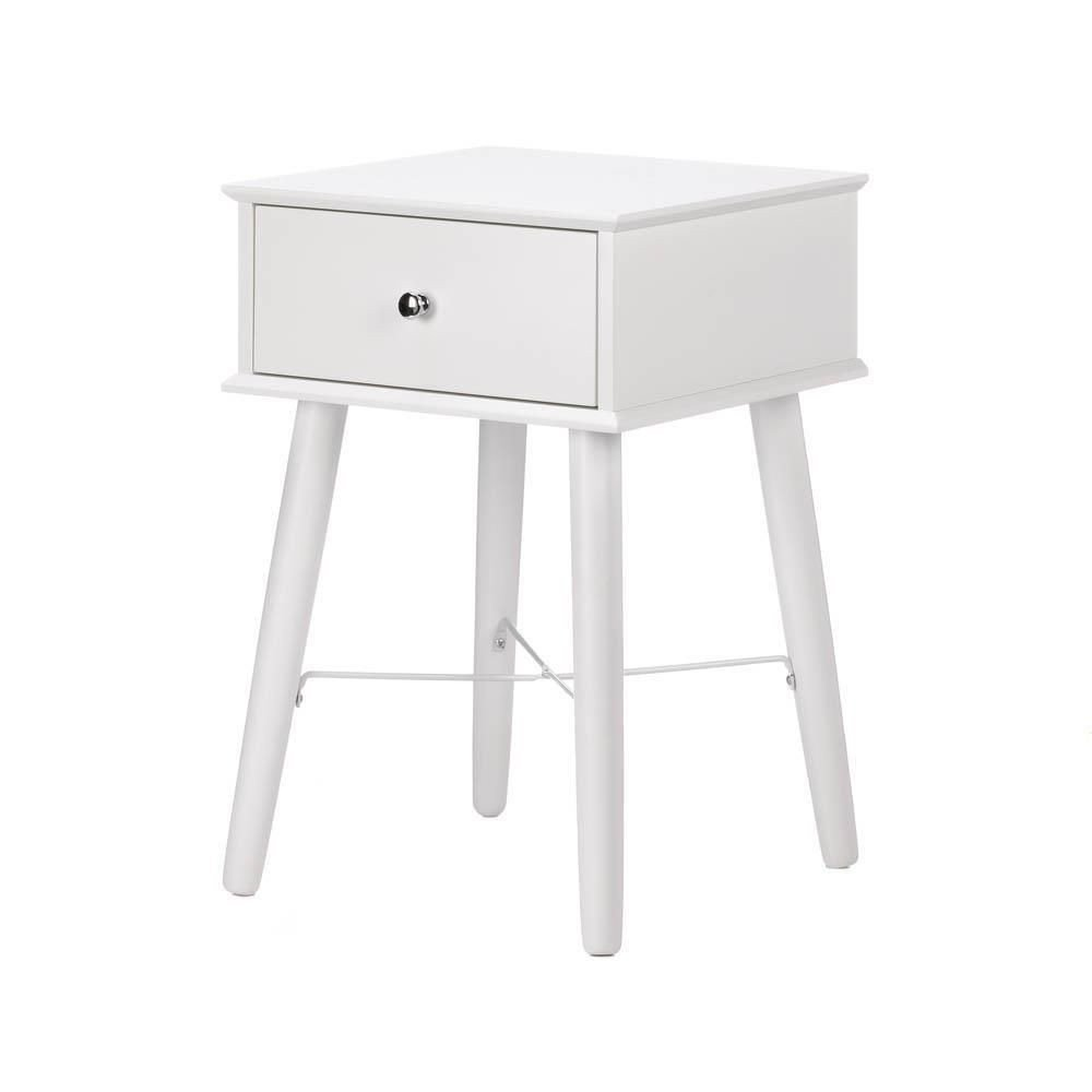 White Bedroom End Tables Best Of Modern Chic Side Table In 2020
