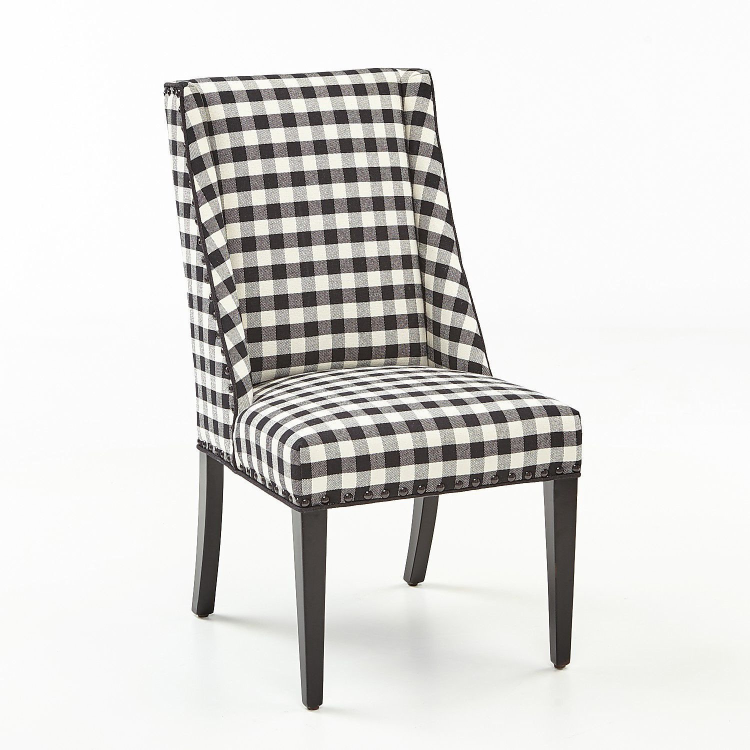 White Chair for Bedroom Elegant Owen Black & White Buffalo Check Dining Chair with Black