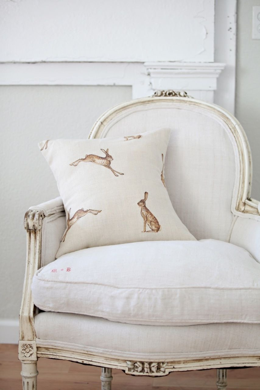 White Chair for Bedroom Lovely Classic White with Hare Pillow Subtle Reminders Of the