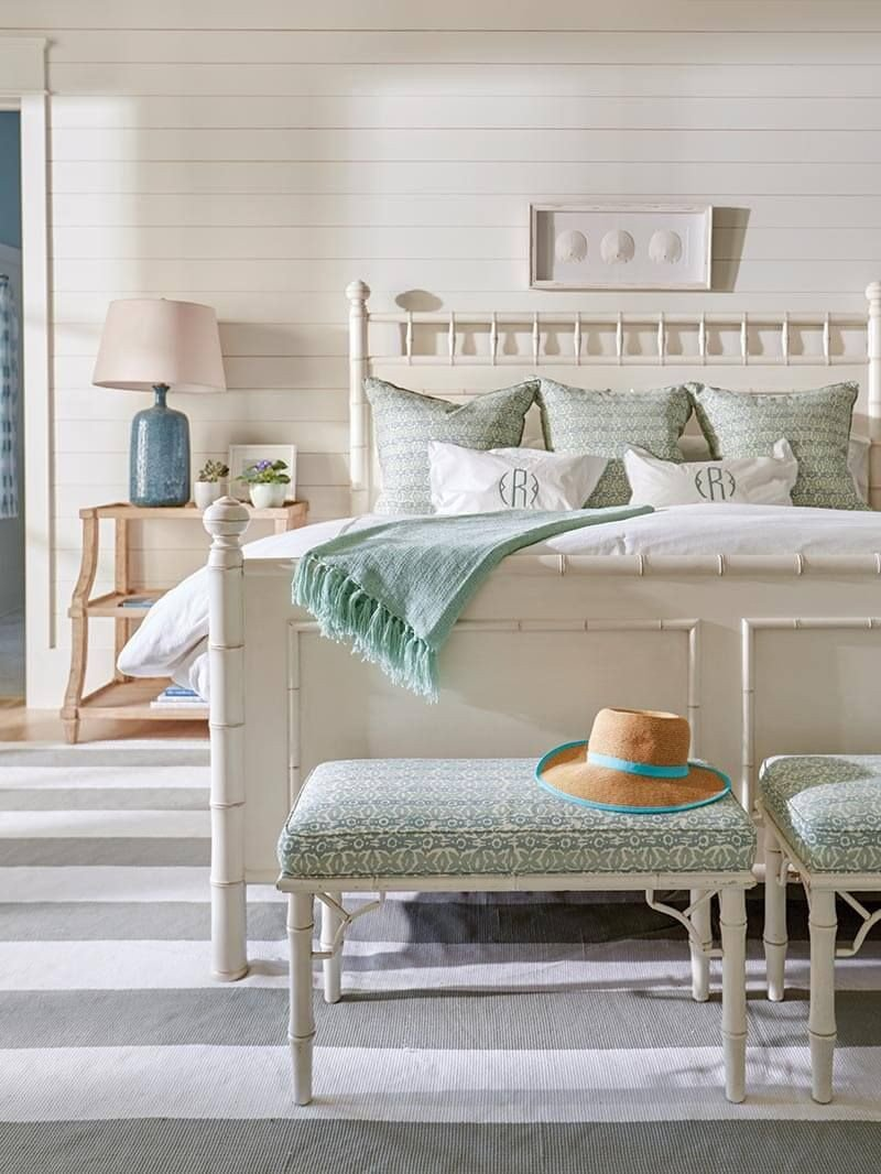 White Coastal Bedroom Furniture Elegant Blue Mountain Beach House tour