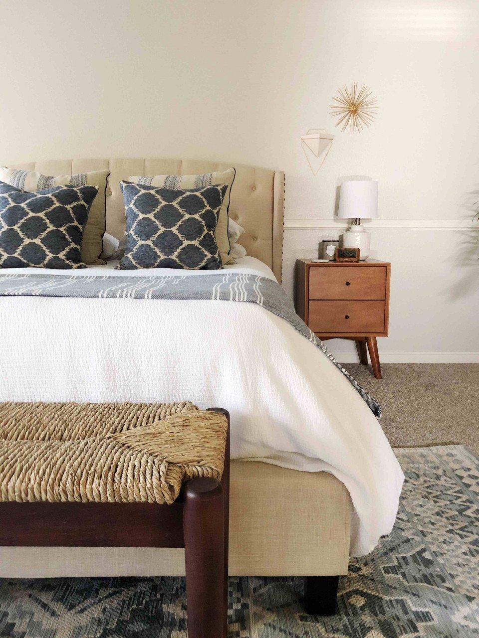 White Coastal Bedroom Furniture New Mid Century Modern Bedroom Furniture A Serene Mid Century