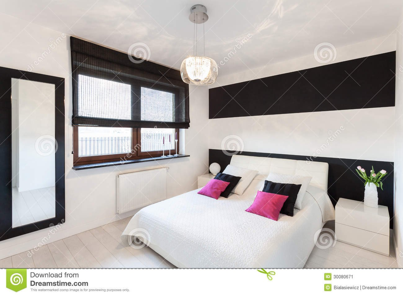 White Cottage Bedroom Furniture Awesome Vibrant Cottage Modern Bedroom Stock Image Image Of